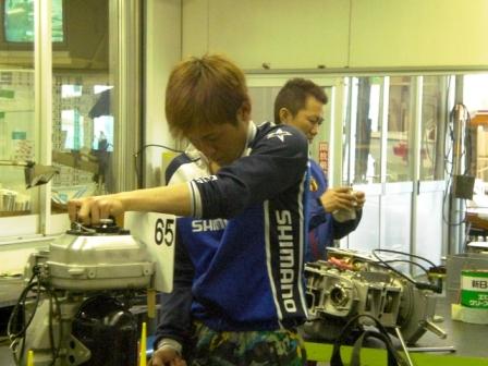古結選手と松田選手