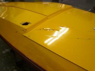 ボート66号・修理前